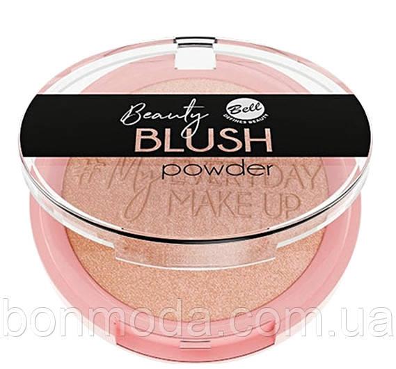 Румяна компактные Bell Beauty Blush Powder № 02