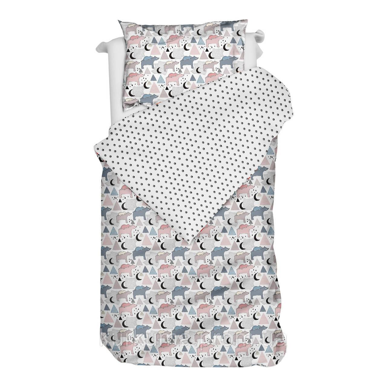 Комплект постельного белья BEARS 140х200 см