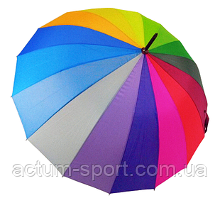 Зонт трость женский Rainbow Max Komfort полуавтомат Anti wind