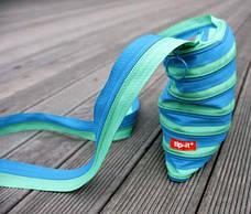 Сумка Zipit Medium Turquise Blue & Spring Green (ZBD-15), фото 3