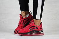 Кросівки Жіночі та підлітки Nike Air Max 720  червоні арт.8253