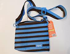 Сумка Zipit Medium Ocean Blue & Soft Brown (ZBD-4), фото 2