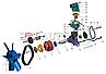 406.1308080-21 Ролик натяжной ГАЗ дв.ЗМЗ 406 (покупн. ГАЗ) (РИКОР ЭЛЕКТРОНИКС), фото 5