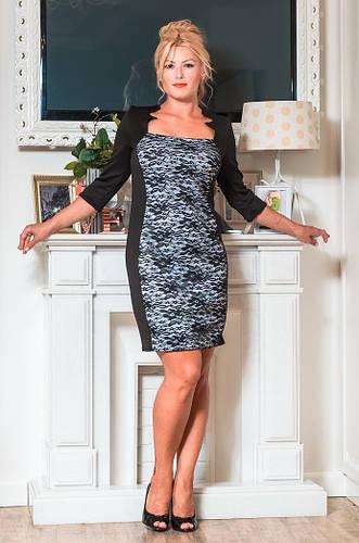Женское коктейльное платье  (48-60) 8049