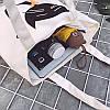 Эко-сумка белая с котом в шарфе, фото 2