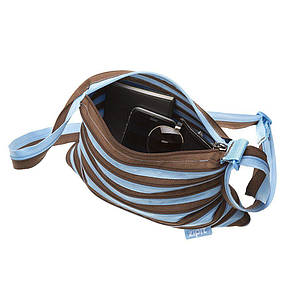 Сумка Zipit Premium Tote / Beach Ocean Blue & Soft Brown (ZBN-4), фото 2