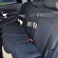 Чехлы на сиденья Nissan Micra 2002-2010 из Автоткани (Союз АВТО), полный комплект (5 мест)