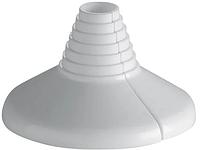 Декоративная чашка (розетка) универсальная конусная пластик 134 Remer (Italy)