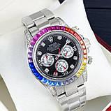 Rolex Cosmograph Daytona Rainbow Automatic Silver-Black, фото 3