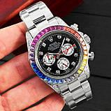 Rolex Cosmograph Daytona Rainbow Automatic Silver-Black, фото 4
