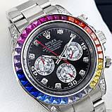 Rolex Cosmograph Daytona Rainbow Automatic Silver-Black, фото 2