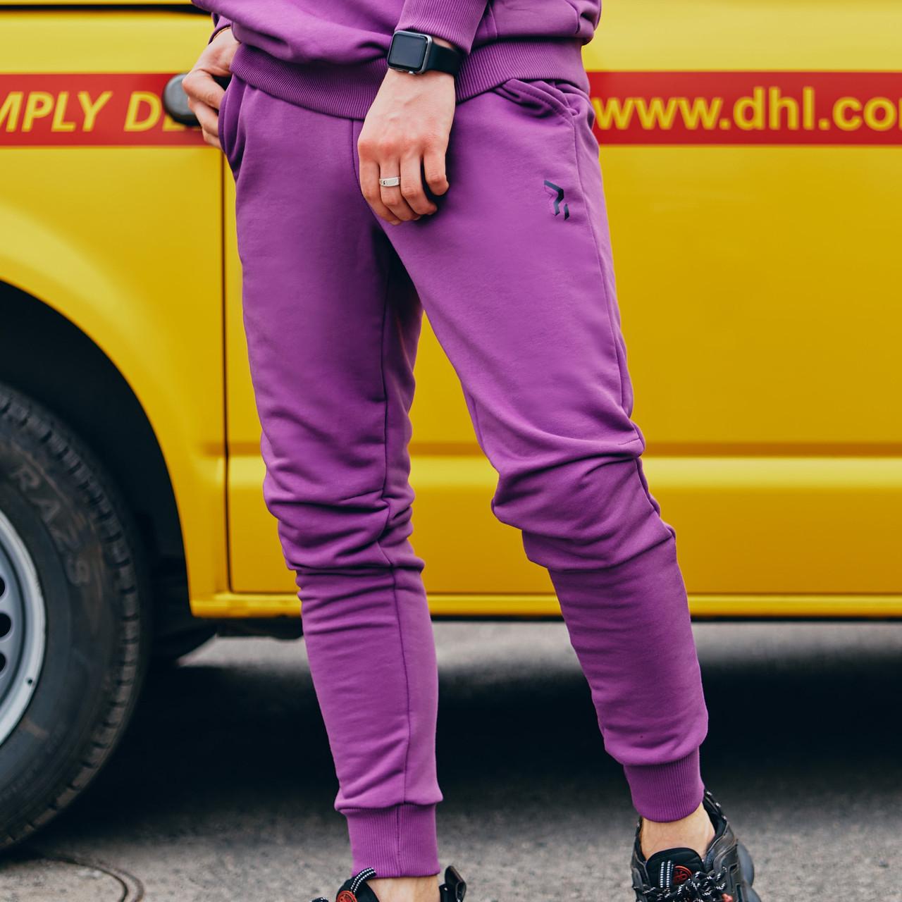 Спортивные штаны Пушка Огонь Jog фиолетовые