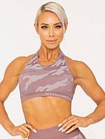 Спортивний топ Camo Seamless Sports Bra – Pink, фото 1