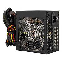 Блок питания Logicpower ATX-600W, 12см LED Fan, 2хIDE, 3хSATA, 8Pin(4+4), 8Pin(6+2), 24Pin, OEM, без каб.пит.