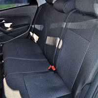 Чехлы на сиденья Mitsubishi Colt 2002-2008 из Автоткани (Союз АВТО), полный комплект (5 мест)
