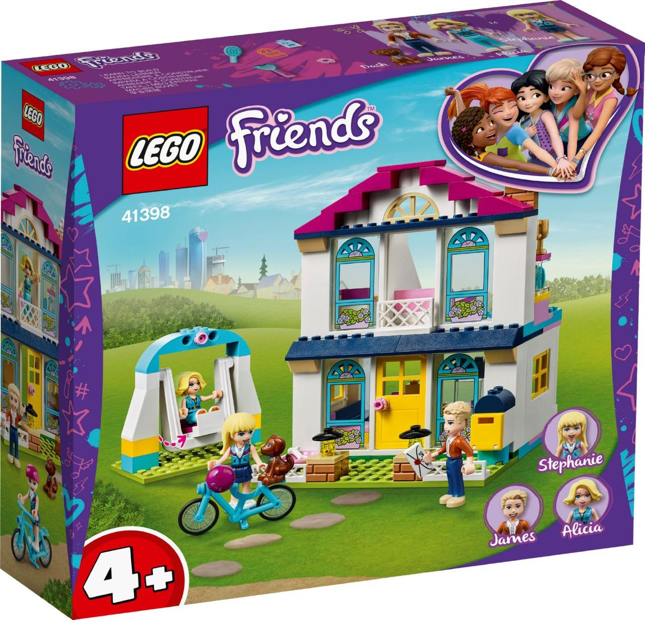 Lego Friends Дом Стефани 41398