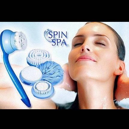 Средство для чистки тела Spin Spa Cleansing Facial Brush, фото 2
