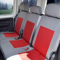 Чехлы на сиденья Honda Civic 2005-2008 из Автоткани (Союз АВТО), полный комплект (5 мест)
