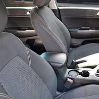 Чехлы на сиденья ВАЗ 2110 1995-2007 из Автоткани (Союз АВТО), полный комплект (5 мест)