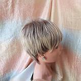 Короткий парик из термоволос пепельно-русый омбре RG4400-AB602, фото 6