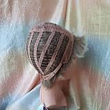Короткий парик из термоволос пепельно-русый омбре RG4400-AB602, фото 9