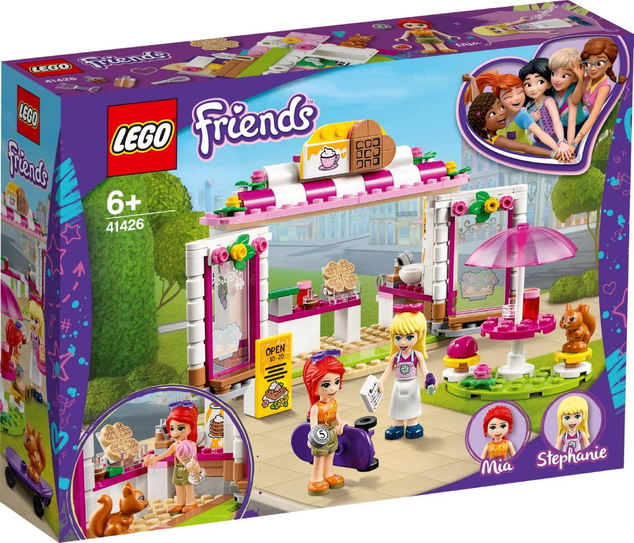 Lego Friends Кафе в парке Хартлейк Сити 41426