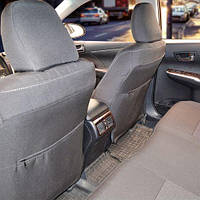 Чехлы на сиденья Nissan Qashqai 2007-2014 из Автоткани (Союз АВТО), полный комплект (5 мест)