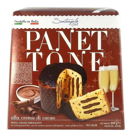 Паска Santagelo PANETTONE alla creme di cacao 908г, фото 2