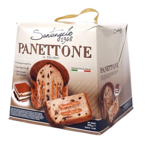 Панеттоне Panettone Santangelo alla Crema di tiramisu 908 г, фото 2