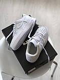 Кросівки Nike Air Force 1 White / Найк аір форс 1, фото 2