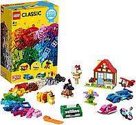 ЛЕГО LEGO конструктор Classic Весёлое творчество 900 дет. - 11005