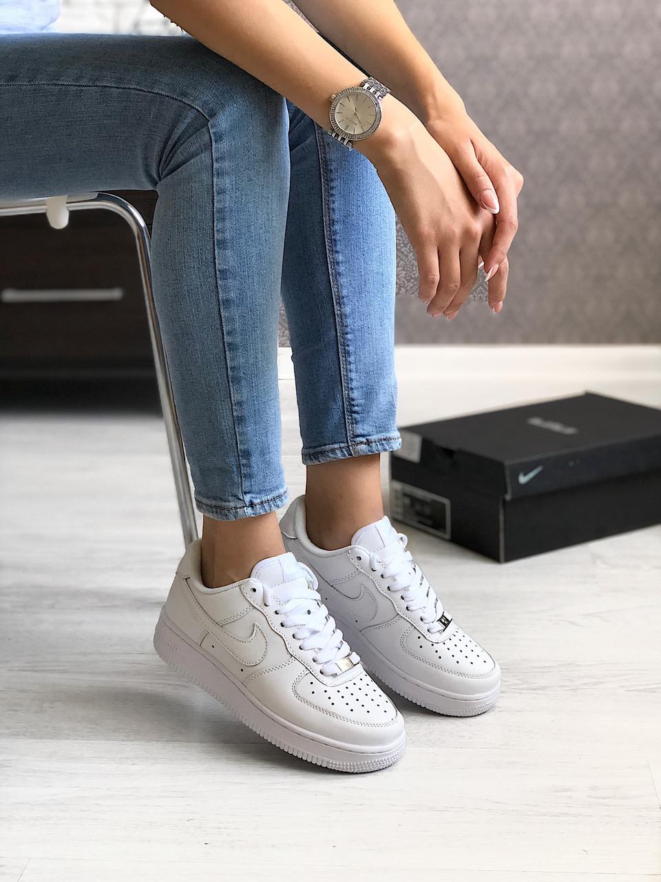 Кросівки Nike Air Force 1 White / Найк аір форс 1