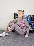 """Дитячий підлітковий спортивний костюм """"Фламінго"""" 122-140, фото 3"""