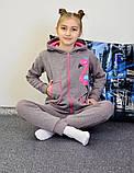 """Дитячий підлітковий спортивний костюм """"Фламінго"""" 122-140, фото 4"""