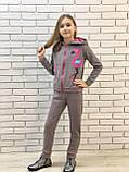 """Дитячий підлітковий спортивний костюм """"Фламінго"""" 122-140, фото 2"""