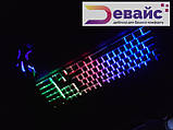 Ігровий Набір Клавіатура + мишка З Підсвічуванням Landsides KR 6300 TZ, фото 7