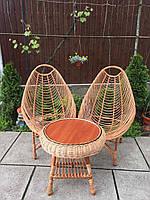 Комплект плетеный из лозы, фото 1
