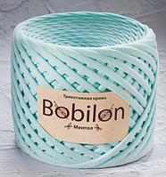 Трикотажнаяпряжа Bobilon Medium 7-9ммМентол