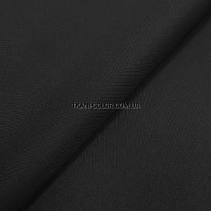 Ткань оксфорд 600d PU (полиуретан) черный