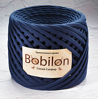 Трикотажнаяпряжа Bobilon Medium 7-9ммСиний сапфир