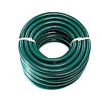 Шланг для полива Метеор Evci Plast 3/4-50 метров , поливочный шланг садовый зеленый 50 метров.