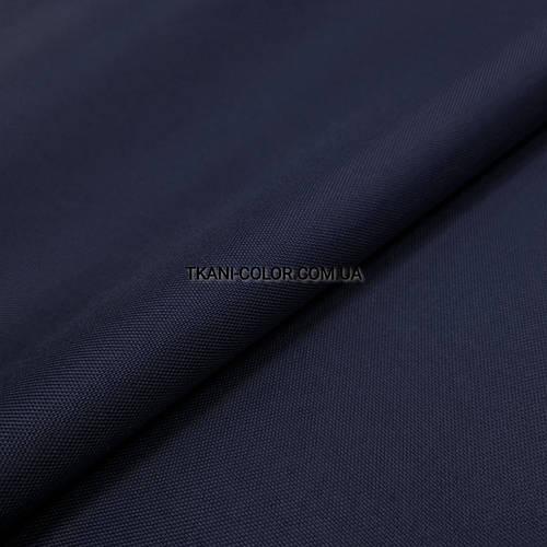 Ткань оксфорд 600d PU (полиуретан) темно-синий - фото 1