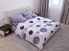 Двуспальный комплект постельного белья евро 200*220 хлопок  (14632) TM KRISPOL Украина