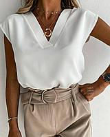 Блуза женская из турецкого шелка в большом размере, фото 1