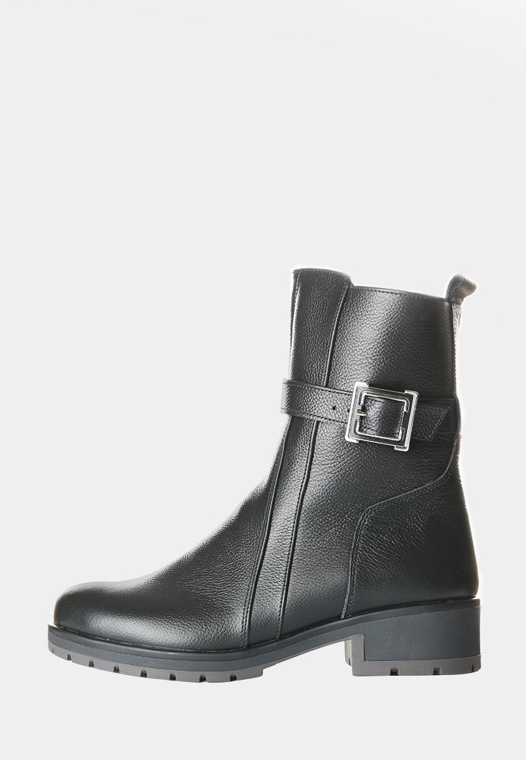 VM-Villomi Кожаные женские ботинки на зиму со змейкой