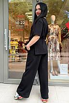 костюм женский Modus Джокер трикотаж двунитка турция тонкий прогулочный костюм 9276, фото 2