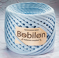 Трикотажнаяпряжа Bobilon Medium 7-9ммНебесно-голубой