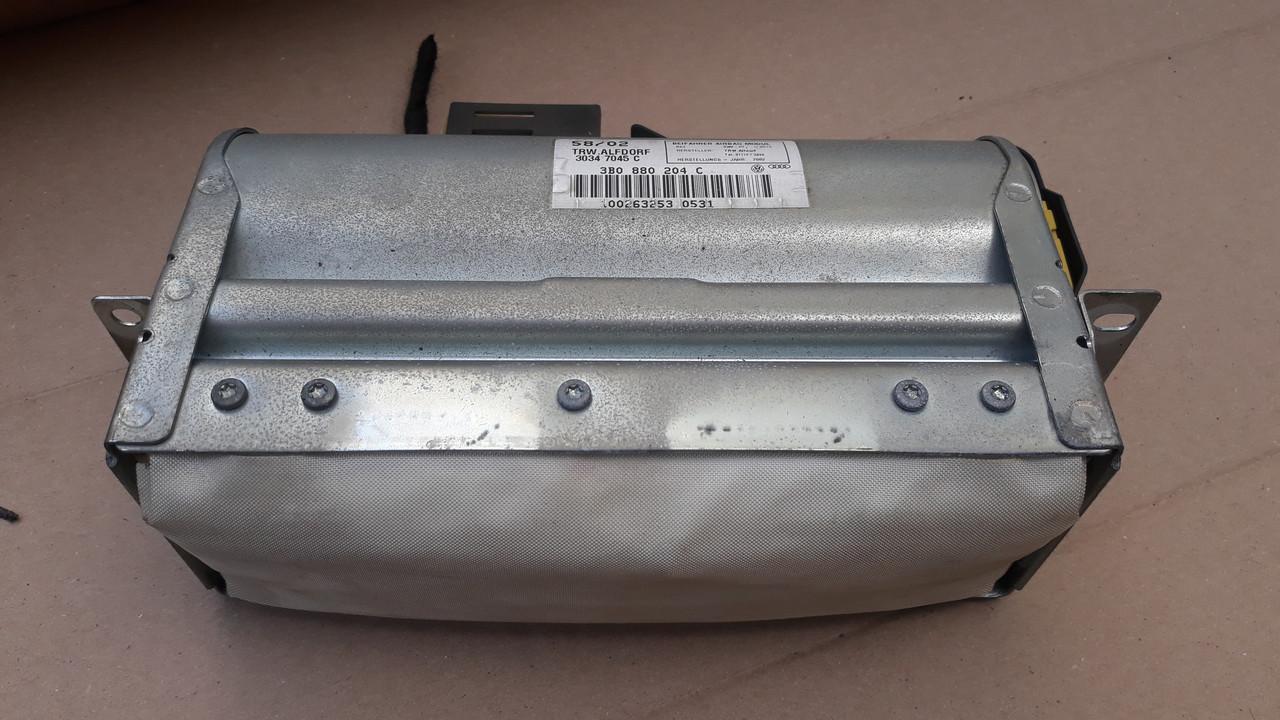 Подушка безопасности airbag пасcажира skoda superb volkswagen passat b5 пассат б5 3b0880204c 3b0880204