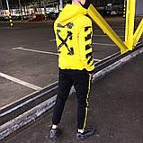Мужской спортивный костюм Off-White лето 2020. Мужской осенний спортивный костюм, фото 2