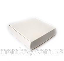 Коробочка без віконця (біла) 120*120*30